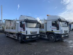 Unreserved Online Auction - 2no. 2014 Iveco Eurocargo 180E25S Crash Cushions