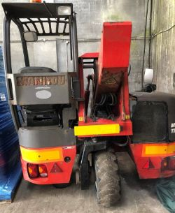 Unreserved Online Auction - SALVAGE 2016 Manitou TMT 25i Fork Lift Truck