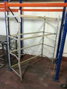 Aluminium Frame as Lotted 595 x 1450 x 1730mm