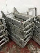 6no. Aluminium Roller Bogies as Lotted
