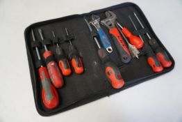 Quantity of Various Hand Tools Complete with Forge Steel Carry Case as Lotted