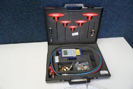 Comdronic AC6 Electronic Manometer Kit Complete with Tools, Accessories and Carry Case