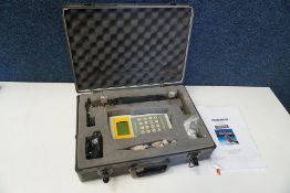 Micronics Portaflow 216 Flowmeter Kit Complete with Carry Case