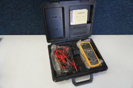 Fluke 1587 FC Insulation Multimeter Complete with Carry Case