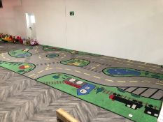 Large Road Play Mat Made Up of 2no. Mats. Collection Strictly 09:30 - 15:30 Tuesday 24 March