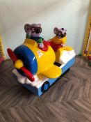 Coin Operated Koala Brothers Plane Ride, No Keys Present. Collection Strictly 09:30 - 15:30