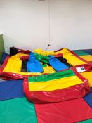 2015 AAA Inflatables Commercial Bouncy Castle and Blower as Illustrated. Collection Strictly 09:30 -
