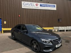Unreserved Online Auction - 2015 Mercedes Benz E220 AMG