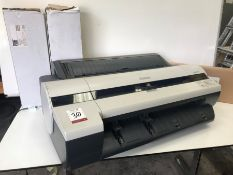 "Canon iPF605 Large Format Printer, 24"", A1 Size Complete With 4no. Spare Rolls & Various Plotter"