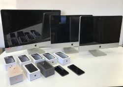 Unreserved Online Auction - Apple iMacs, iPhones and I.T Equipment