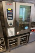 Rational SCC 101G Self Cooking Centre LPG Gas Combination Oven Complete with Stainless Steel Oven