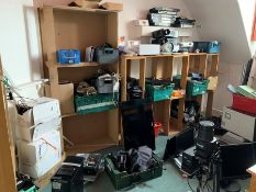 Entire Contents of Room, Lot Located In; MAIN BUILDING, Upper Tier, IT Store Room