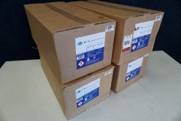 4no. Boxes of G.I.S Sanisafe 3 Refill Wipes, Disinfectant Wipes, Lot is Located Main Building, Room: