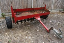 SCH Supplies F48(T) Towable Scarefier, 1800mm Total Width, Please Note: Ball Hitch Modified as