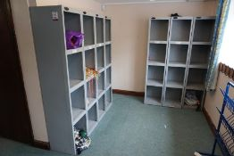 4no. Bays of Open Fronted Locker Unit as Lotted, Lot Located in Block: 4 Room: 8