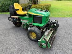 John Deere 2653A Triple Cylinder Ride On Lawn Mower, 2435 Recorded Hours