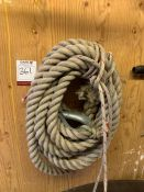 Tow Rope, Lot Located In; Tool Shed