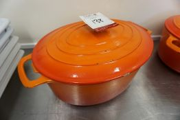 Vogue Ceramic Cooking Pot, Lot is Located Main Building, Room: Kitchen