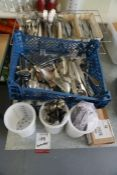 Quantity of Various Cutlery and Cutlery Holders as Illustrated, Lot is Located Main Building,