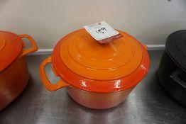Vogue Ceramic Cooking Pot 260mm dia, Broken Handle, Lot is Located Main Building, Room: Kitchen