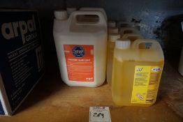 Quantity of Centenary Hygienic Hand Soap & Arpax A7 Bactericidal Degreaser & Sanitiser, Lot is