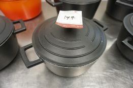 Masterclass Metal Cooking Pot 220mm dia, Lot is Located Main Building, Room: Kitchen