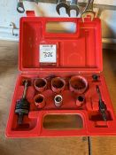 Hole Saw Set, Lot Located In; Tool Shed