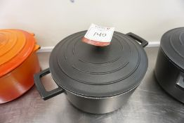 Masterclass Metal Cooking Pot 260mm dia, Lot is Located Main Building, Room: Kitchen