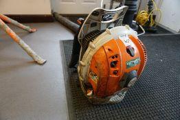 Stihl BR 600 Petrol Backpack Leaf Blower, Lot Located in Block: 3 Corridor