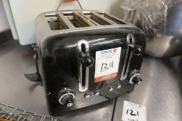 Dualit DPP4 4-Slot Toaster as Lotted, Lot is Located Main Building, Room: Kitchen