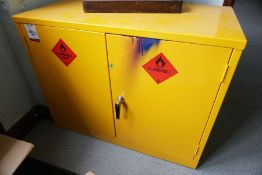 Hazardous Substances Cupboard 920 x 720 x 600mm, Lot Located in Block: 5 Room: 7