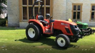 Kiotti DS4110 4WD Tractor, 1381 Hours Recorded