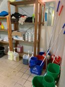 Entire Contents of Cleaning Cupboard exc. Vacuum Cleaner, Lot Located In; MAIN BUILDING, Ground