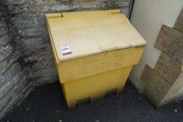 Grit Bin Complete with Contents as Lotted