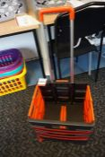 Plastic Collapsible Trolley, Lot Located in Block: 6 Room: 4