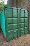 20ft Steel Shipping Container, Please Note: Risk Assessments, Method Statements and Public Liability