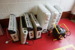 8no. Various Space Heaters as Lotted, Lot Located in Block: 3 Room: Gymnasium