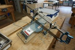 Richmond Precision Manual Mitre Saw as Lotted, Lot Located in Block: 5 Room: 5