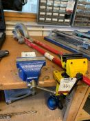 """4"""" Engineers Vice & Stanley 88-069 Vice, Lot Located In; Tool Shed"""