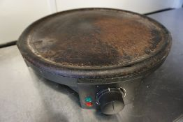 Silver Crest SCM 1400 A1 Crepe Maker as Lotted, Lot is Located Main Building, Room: Kitchen