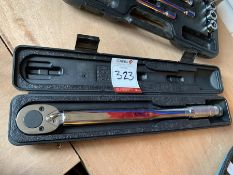 Q-Torq Torque Wrench & Carry Case, Lot Located In; Tool Shed