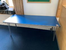 Collapsible Table, Lot Located In; MAIN BUILDING, Ground Floor, Reception