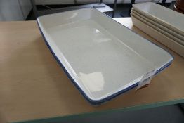 2no. Serving Dishes, Lot is Located Main Building, Room: Canteen