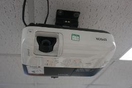Epson EB-S62 3LCD Suspended Projector, Lot Located in Block: 2 Room: 6