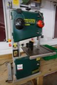 Record Power BS250 Vertical Bandsaw, Lot Located in Block: 5 Room: 5