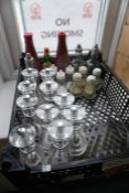 Quantity of Various Salt, Pepper and Vinegar Dispensers as Illustrated, Lot is Located Main
