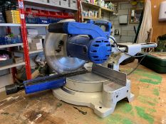 Fox F36-253 Sliding Compound Mitre Saw, Lot Located In; Tool Shed
