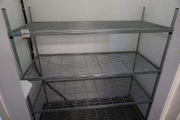 4-Tier Wire Rack Unit 1450 x 1700 x 600mm, Lot is Located Main Building, Room: Kitchen