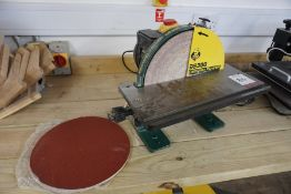 """Record Power DS300 12"""" Disc Sander, Lot Located in Block: 5 Room: 5"""