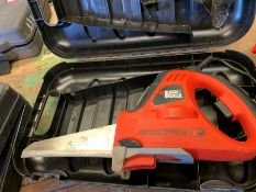 Black & Decker KS890GT Scorpion Reciprocating Saw, Lot Located In; Tool Shed